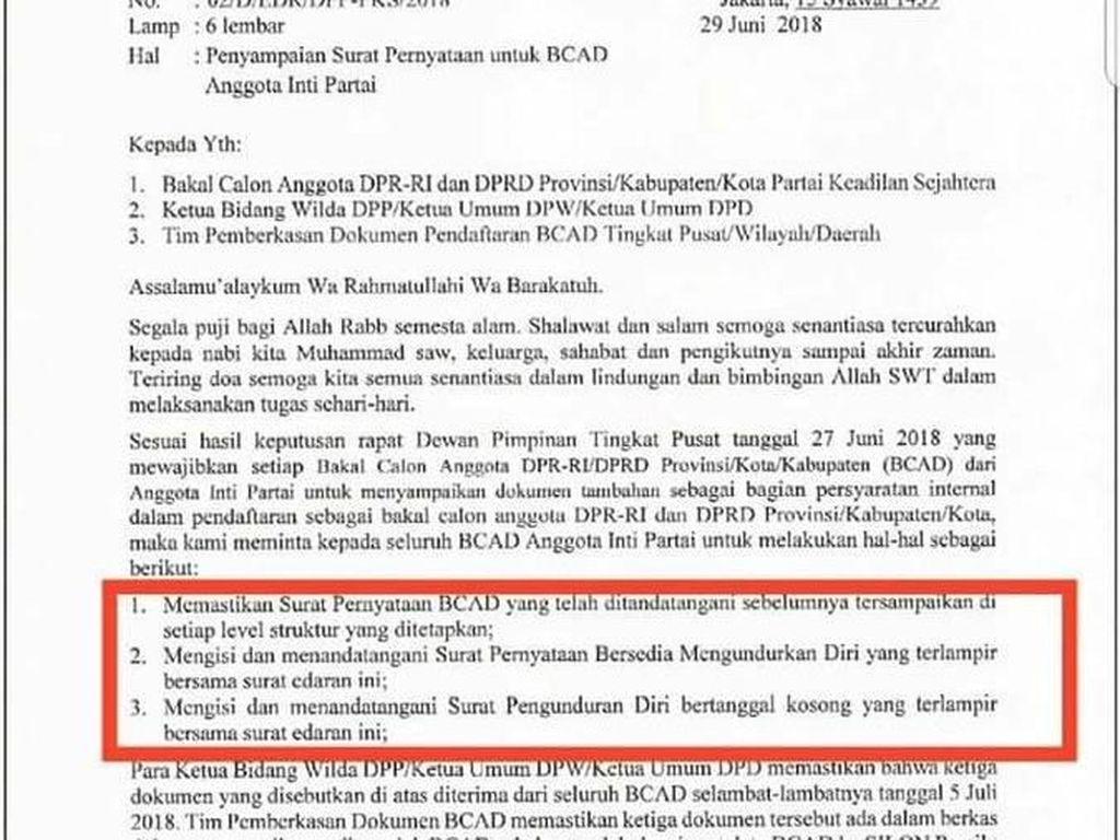 Tolak Surat Mundur untuk Bacaleg, Ketua PKS Situbondo Dipecat