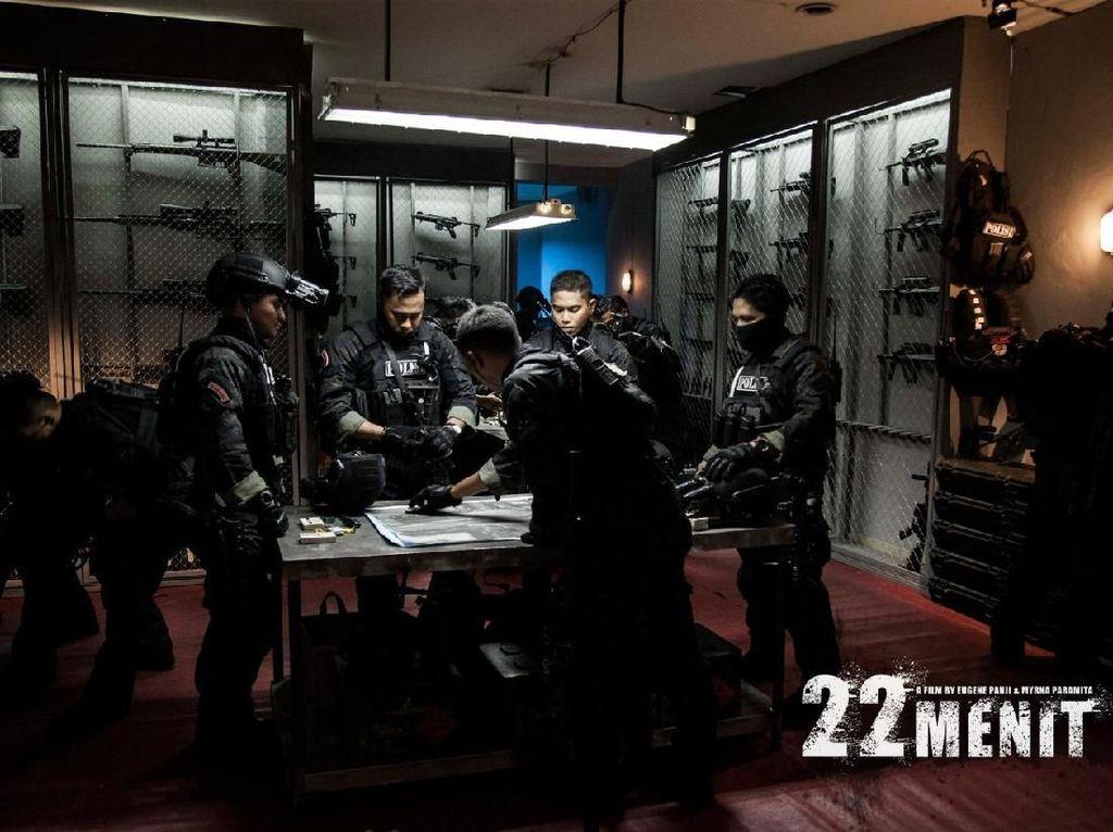 Film 22 Menit, Kisahkan Polisi Amankan Serangan Bom dalam 22 Menit