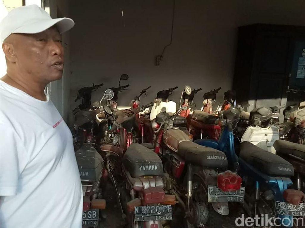 Motor Tua Raja Sengon Dulu Dipakai Jualan Balon Sampai Ikan Asin