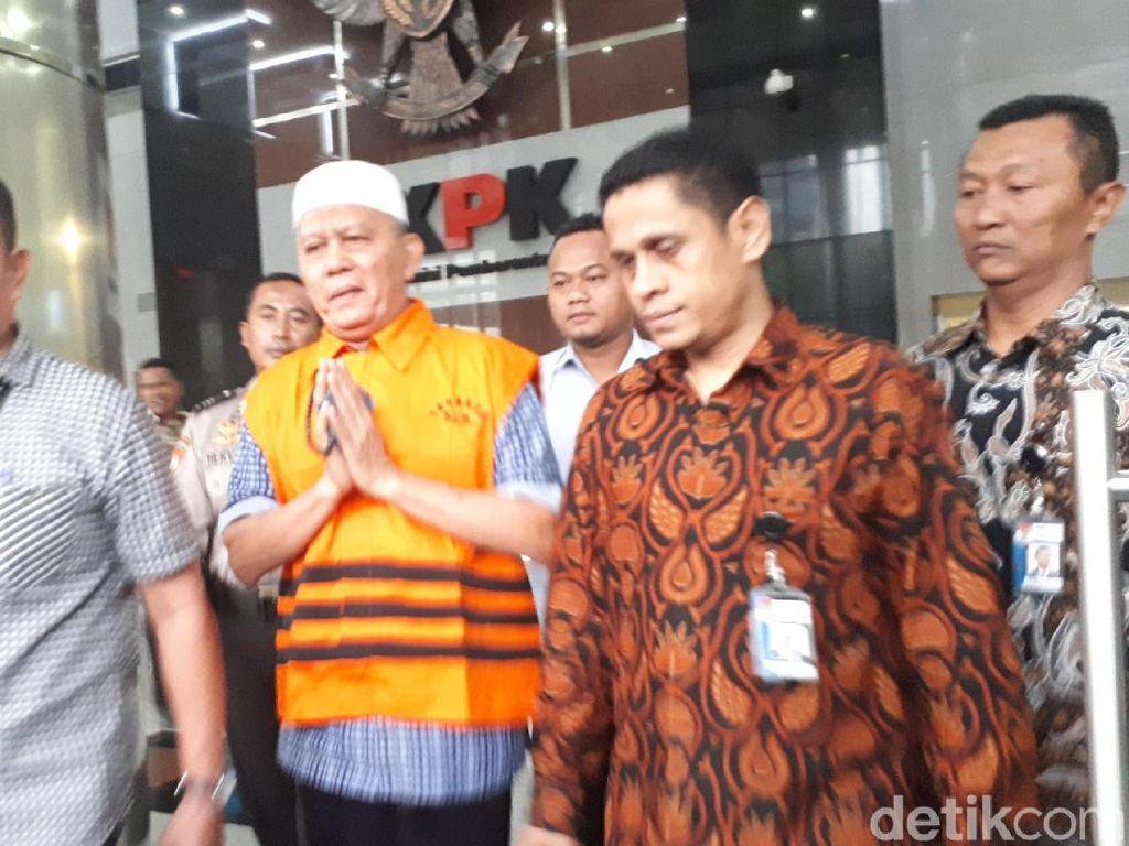 KPK Tahan Eks Anggota DPRD Sumut Tersangka Suap Gatot Pujo