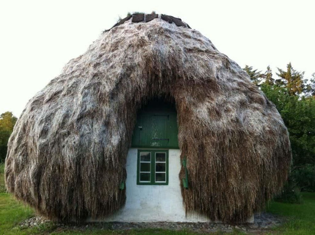 Rumah Gubuk Khas Denmark Dijual Rp 5,8 M, Minat Nggak?
