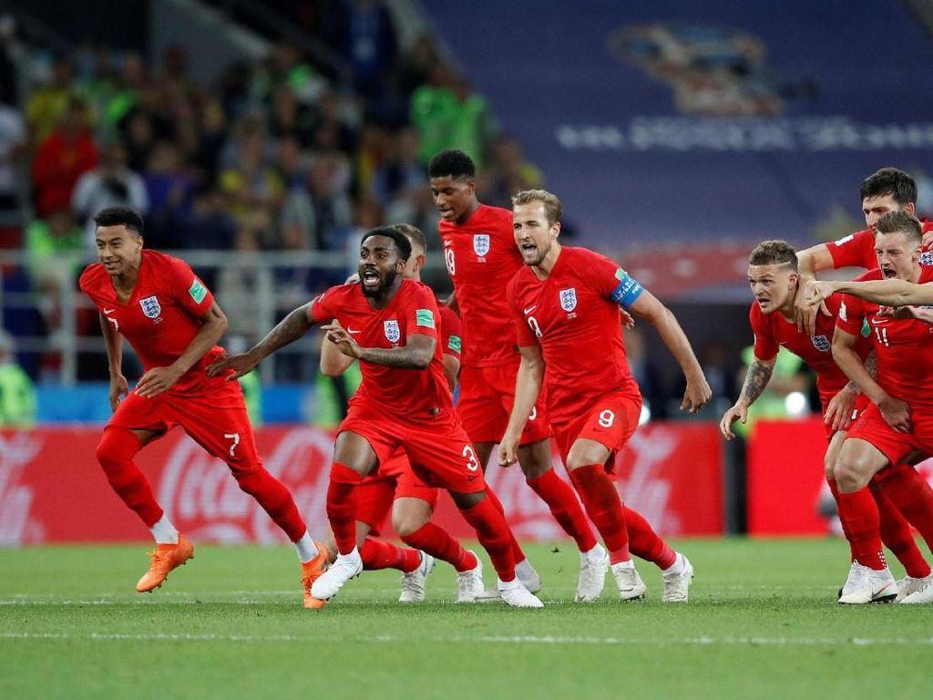 Berakhirnya Kutukan Adu Penalti Inggris di Piala Dunia