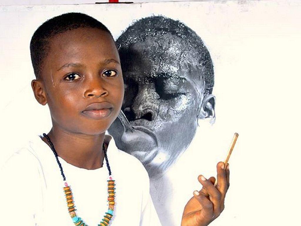 Kenalan dengan Kareem, Bocah 11 Tahun yang Jago Banget Melukis