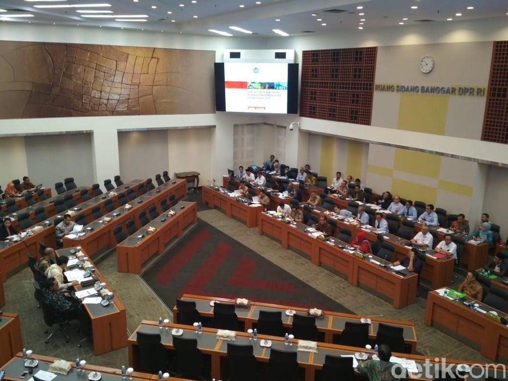 Banggar DPR dan Pemerintah Bahas Anggaran Belanja 2019