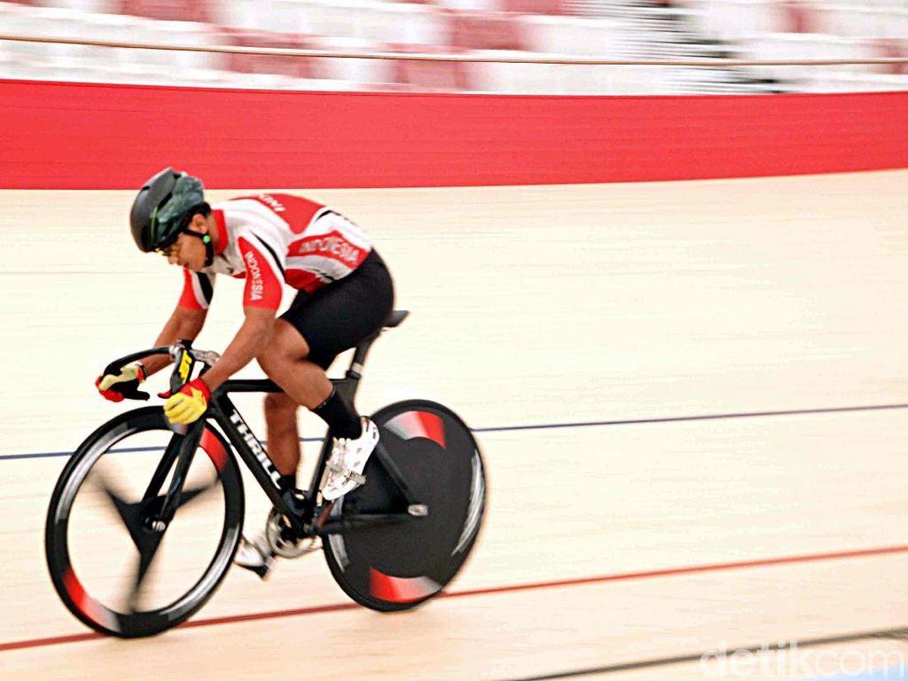 Mengintip Para Atlet Latihan Sepeda Jelang Asian Games 2018