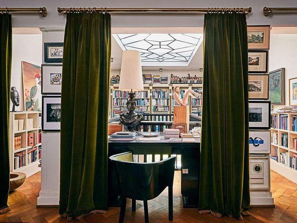 Terpesona Indahnya Rumah Bekas Karl Lagerfeld yang Dijual Rp 151 Miliar