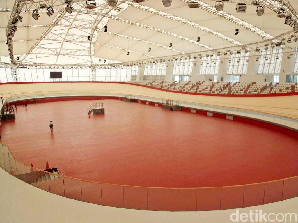 Megahnya Arena Balap Sepeda Velodrome Kebanggaan Indonesia
