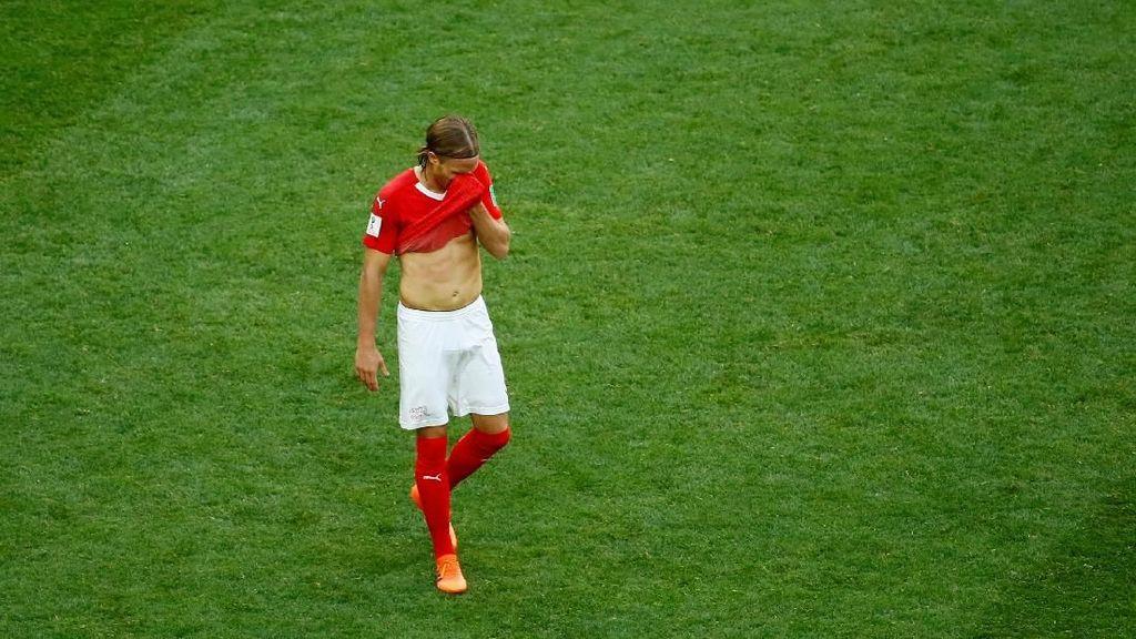 Video: Kartu Merah Terakhir Swiss di Piala Dunia Rusia