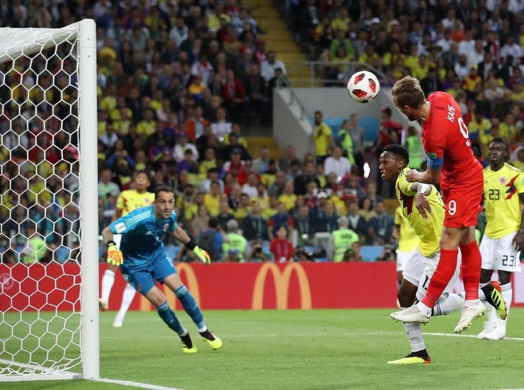 Kolombia vs Inggris Masih Tanpa Gol