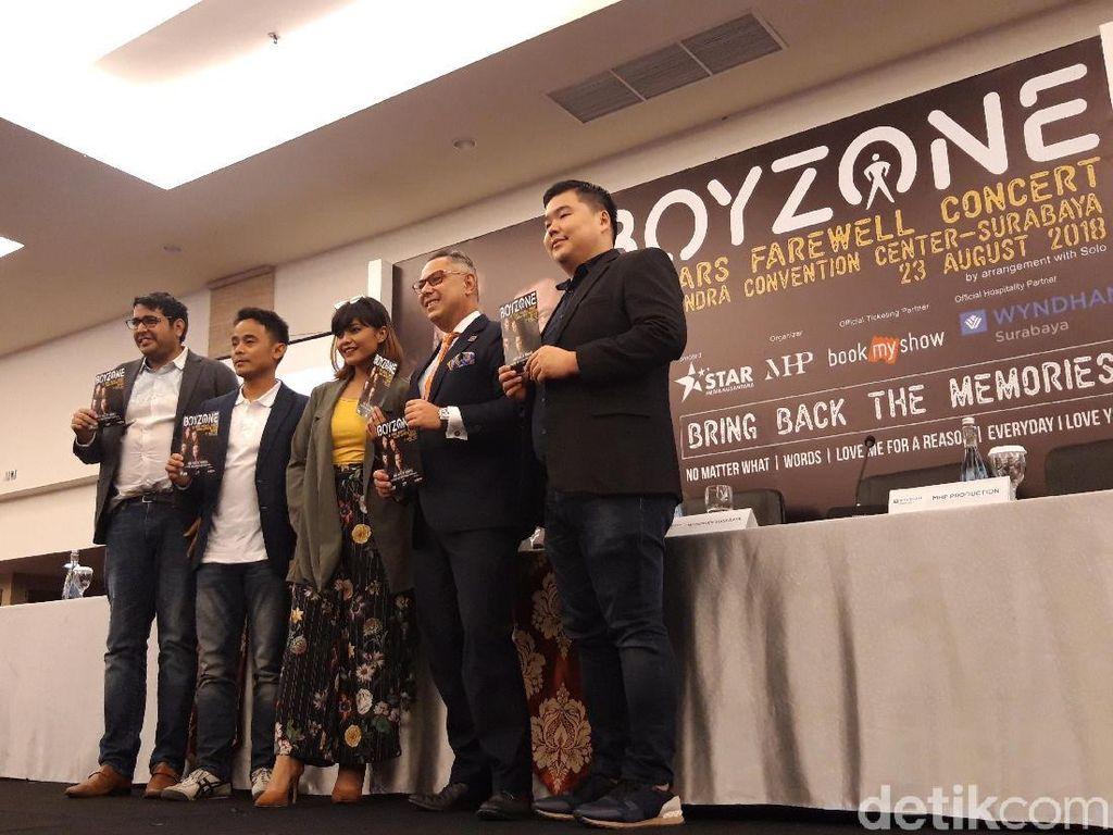 Konser Perpisahan, Boyzone Siap Guncang Surabaya