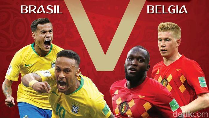 Belgia Jungkalkan Brasil