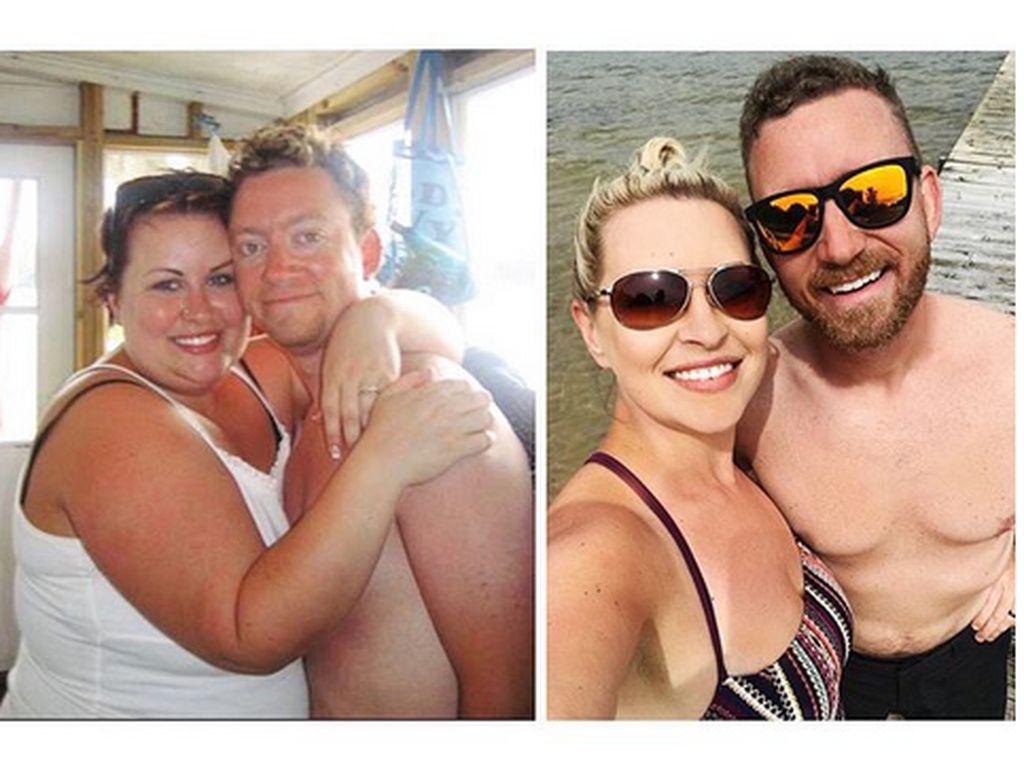 Foto: Potret Inspiratif Transformasi Suami-Istri dari Obesitas Jadi Seksi