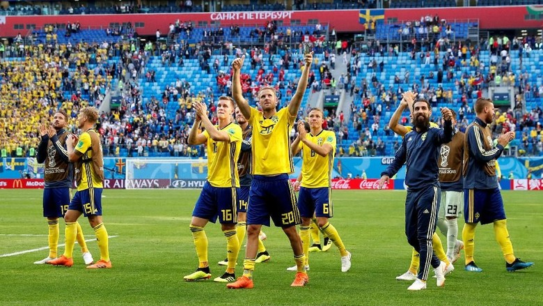 Setelah 24 Tahun, Swedia Kembali Cicipi Perempatfinal Piala Dunia