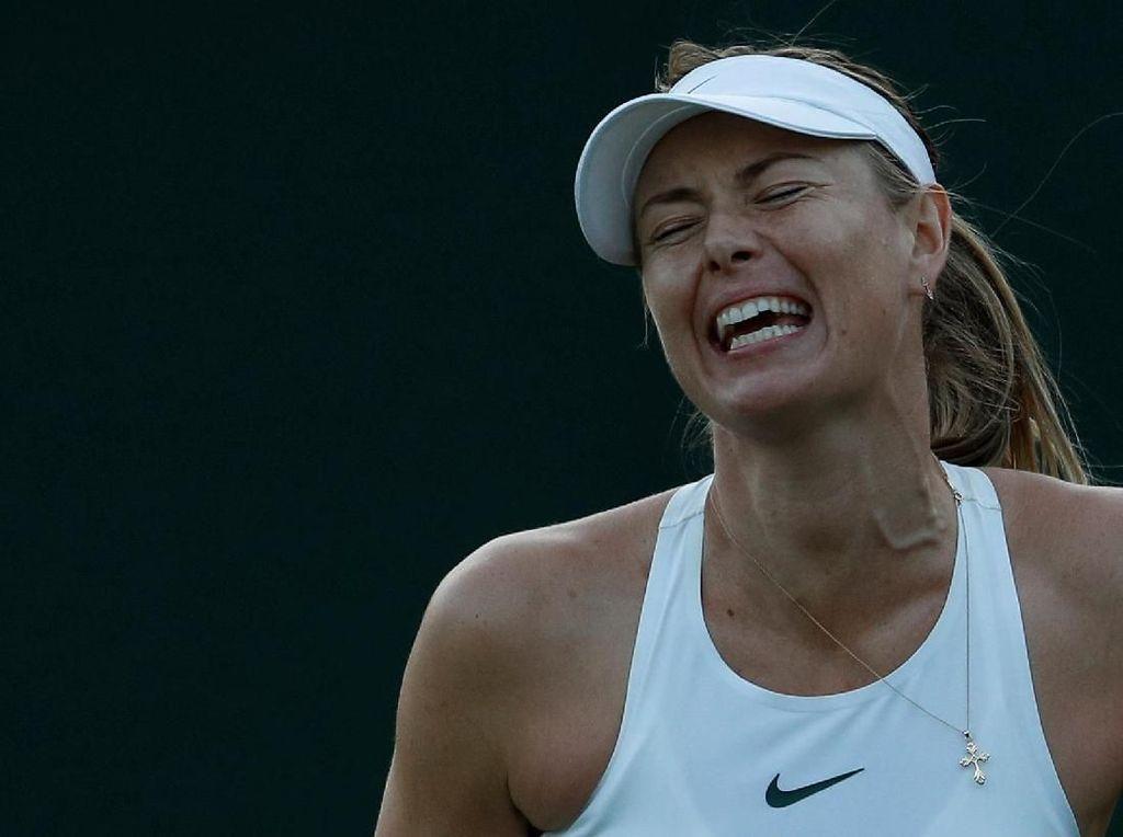 Sharapova Langsung Terdepak dari Wimbledon