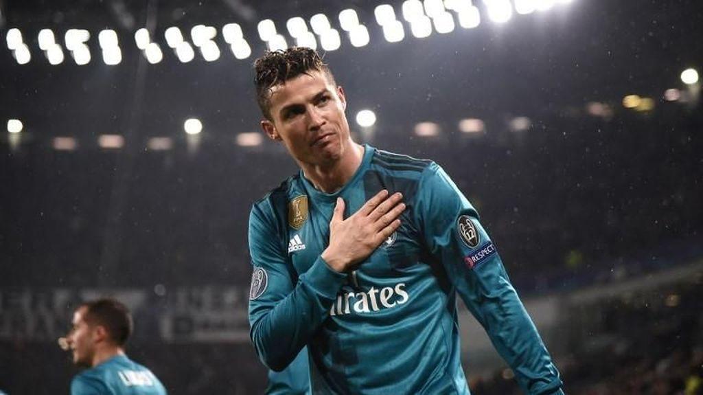 Rumor Ronaldo ke Juventus Bikin Twitter Meletus