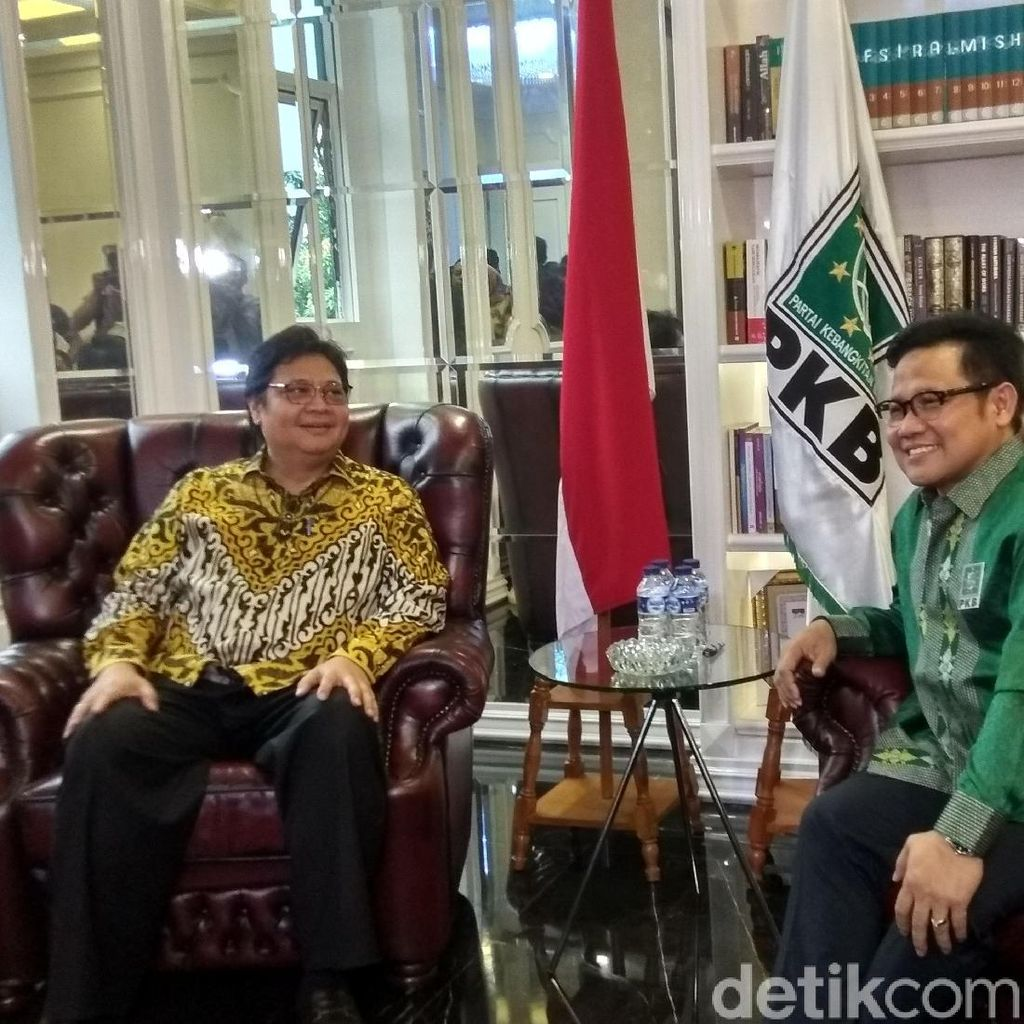 Cak Imin Bicara Peluang PKB-Golkar Usung Capres Selain Jokowi