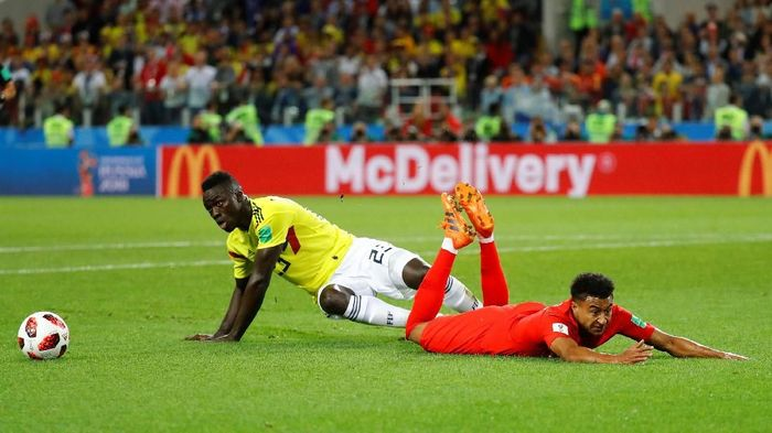 Pelatih Kolombia Jose Pekerman sebal dengan perilaku pemain-pemain Inggris. (Foto: Kai Pfaffenbach/Reuters)