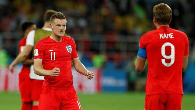 Alasan Vardy Tak Jadi Algojo Inggris dalam Adu Penalti vs Kolombia