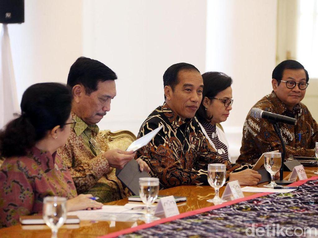 Para Menteri Jokowi Merapat ke Istana Bogor Bahas Ketidakpastian Global