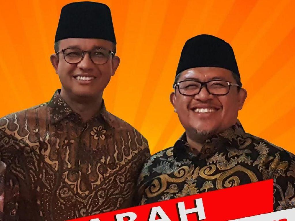 Beredar Poster Duet Abah, Anies Baswedan-Ahmad Heryawan