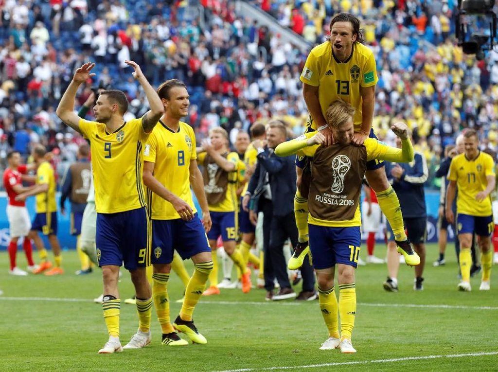 Tanpa Ibrahimovic, Swedia Malah Melaju ke Perempatfinal