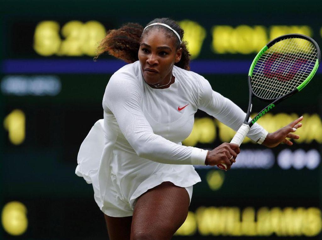 Serena dan Venus Lolos, Wozniacki dan Azarenka Angkat Koper