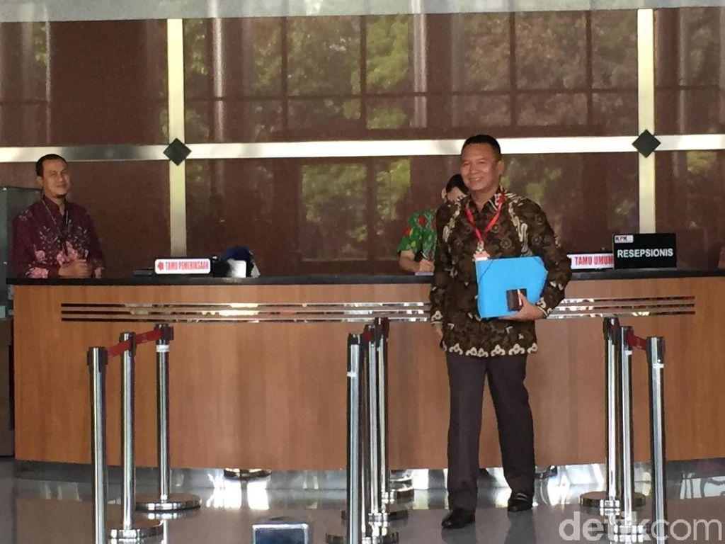 Tb Hasanuddin Penuhi Panggilan KPK Jadi Saksi Kasus Bakamla