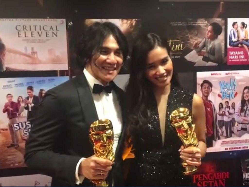 Vino G Bastian dan Marsha Timothy Senang Dapat Penghargaan IMAA 2018