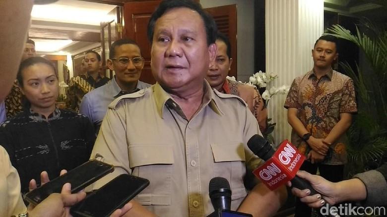 Ditarget Rp 10 T, Galang Perjuangan Prabowo Baru Raup Rp 687 Juta