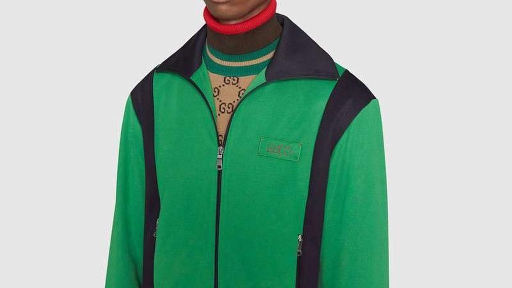 Foto: Gucci Rilis Koleksi Mirip Jaket Gojek, Dijual Seharga Motor