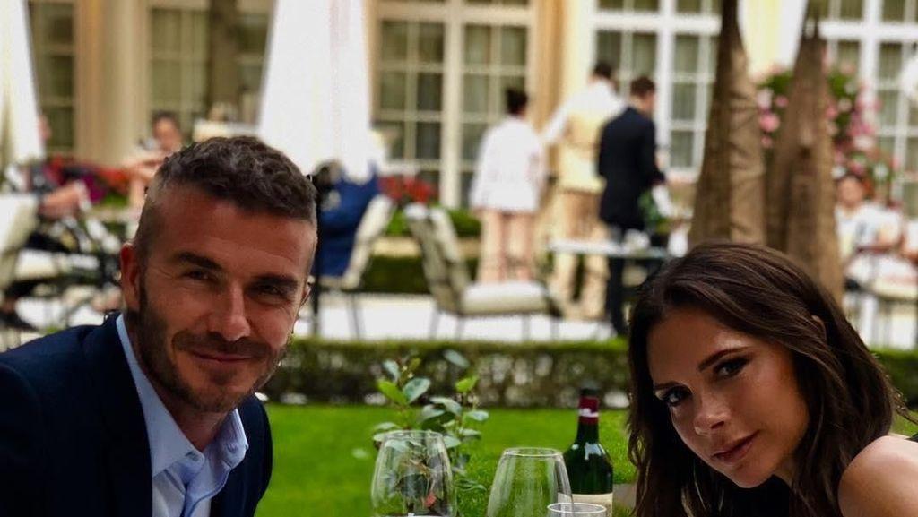 Rayakan Ultah Pernikahan ke-19, Ini Menu Makan Romantis David dan Victoria Beckham