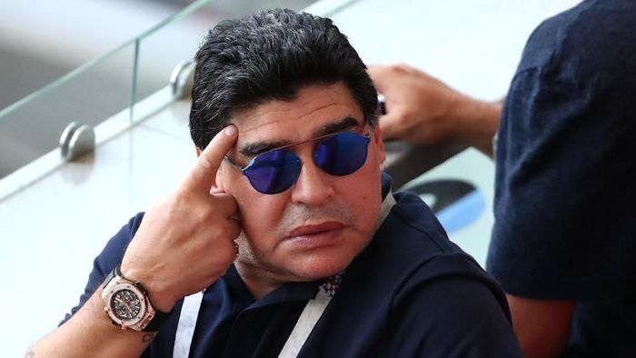 Diego Maradona. (Foto: Catherine Ivill/Getty Images)