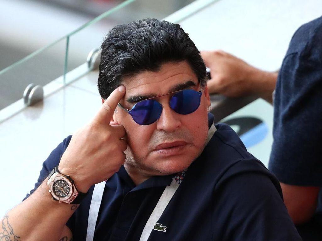 Diego Maradona Latih Klub Divisi Dua Meksiko