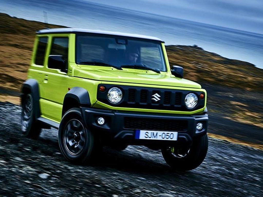 Ungguli Indonesia, Suzuki India Akan Produksi Jimny 5.000 Unit Sebulan