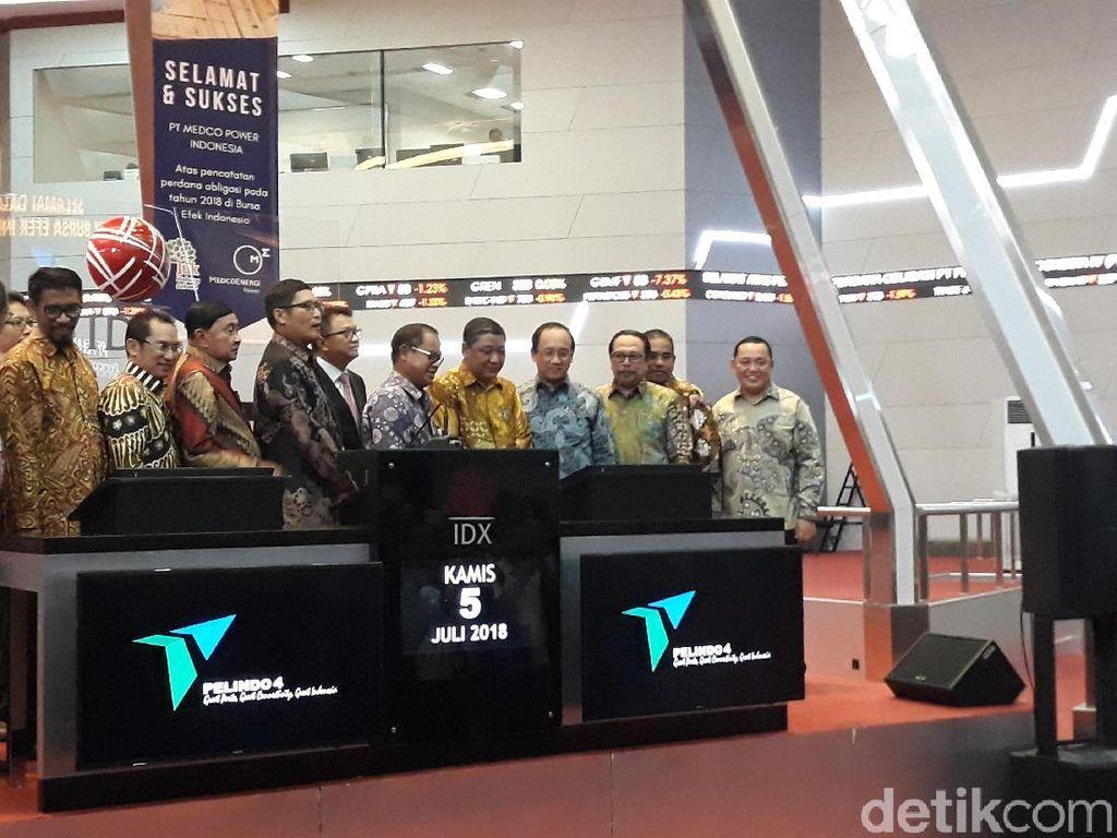 Obligasi Pelindo IV Senilai Rp 3 T Resmi Tercatat di Pasar Modal
