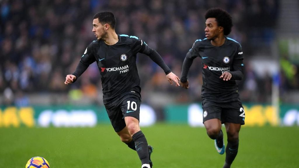 Willian Vs Hazard, Negara di Atas Pertemanan
