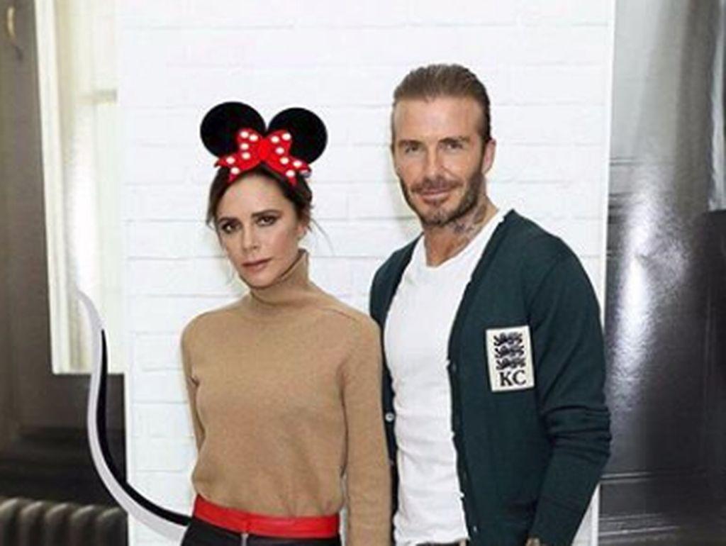 Kemesraan David Beckham dan Victoria di Usia Pernikahan 19 Tahun