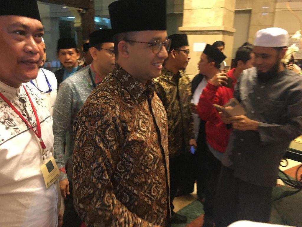 Anies Disapa Gubernur Indonesia di Malam Puncak Pertemuan Dai