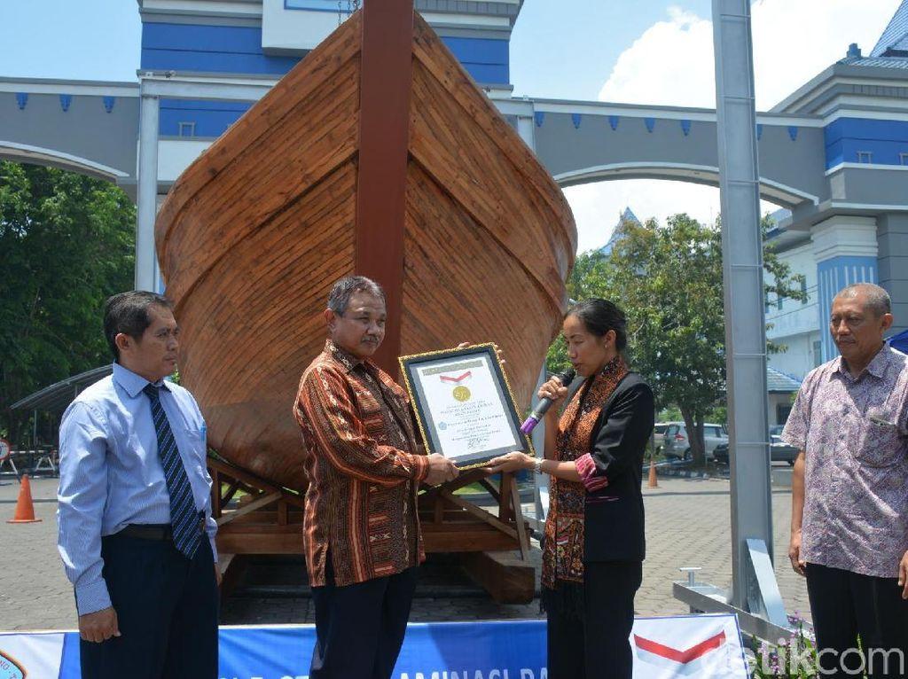 Tersertifikasi Tapi UHT Belum Luncurkan Kapal Bambunya, Kenapa?