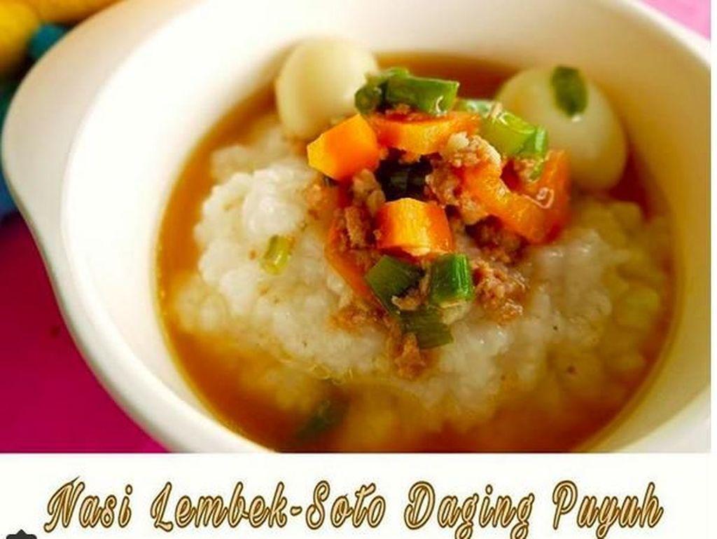 Resep Nasi Lembek Soto Daging Puyuh untuk si Kecil