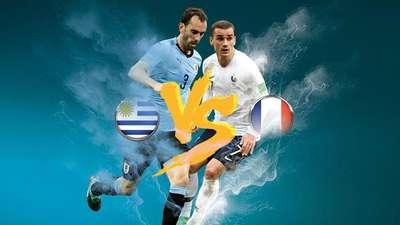 Bek Tangguh Uruguay Vs Kecepatan Sayap Prancis