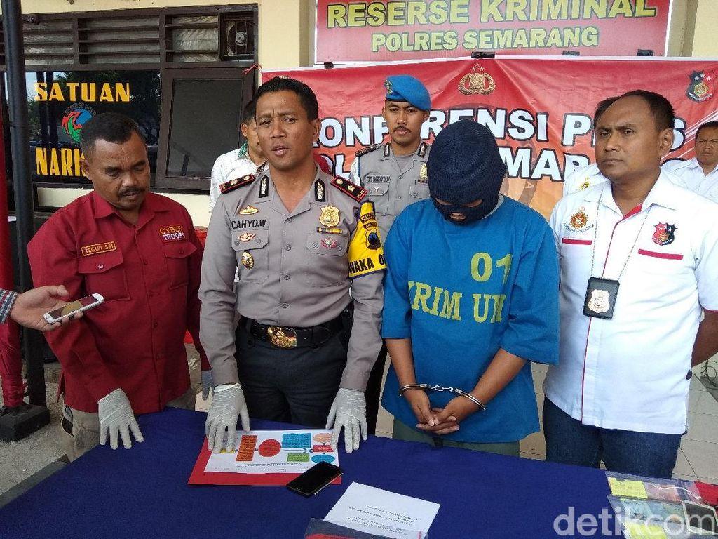 Sodomi Remaja, Pria di Semarang Ini Diciduk Polisi