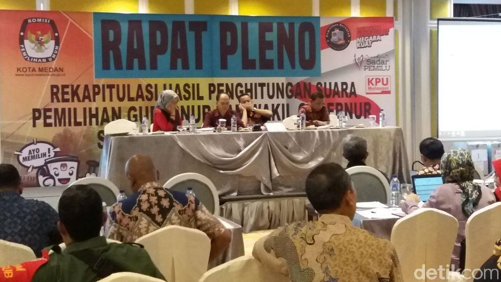Eramas Unggul di Rekapitulasi KPU Medan