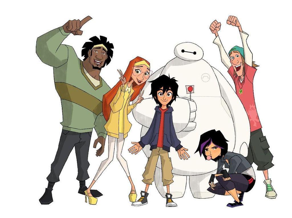 Disney Bakal Luncurkan Serial Animasi Baymax, Zootopia, hingga Moana