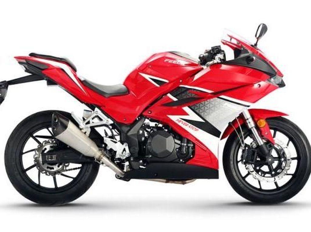 Motor China Ini Mirip Honda CBR250RR