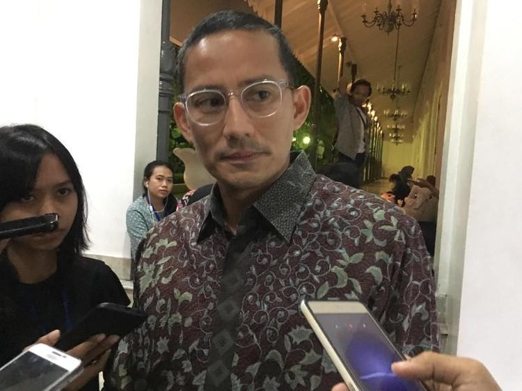 Soal Duet Prabowo-Anies, Sandiaga: PKS yang Menentukan