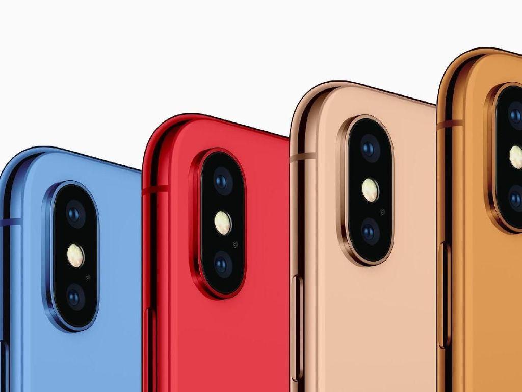 iPhone Terbaru Punya Enam Pilihan Warna