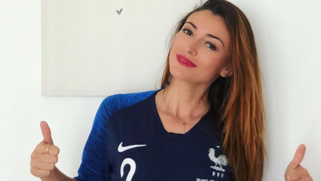 Liburannya Rachel Trapani, Si Cantik Pacar Bek Kanan Timnas Prancis