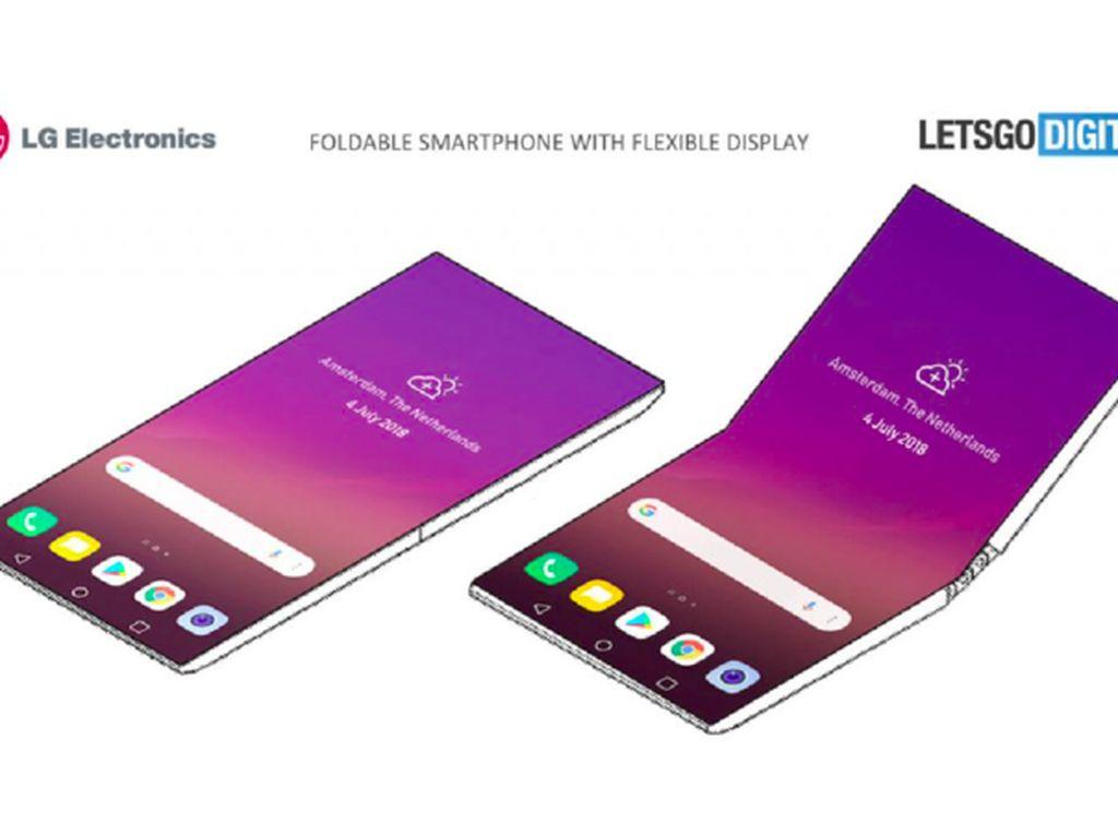 Paten Ponsel Layar Lipat LG yang Mencengangkan