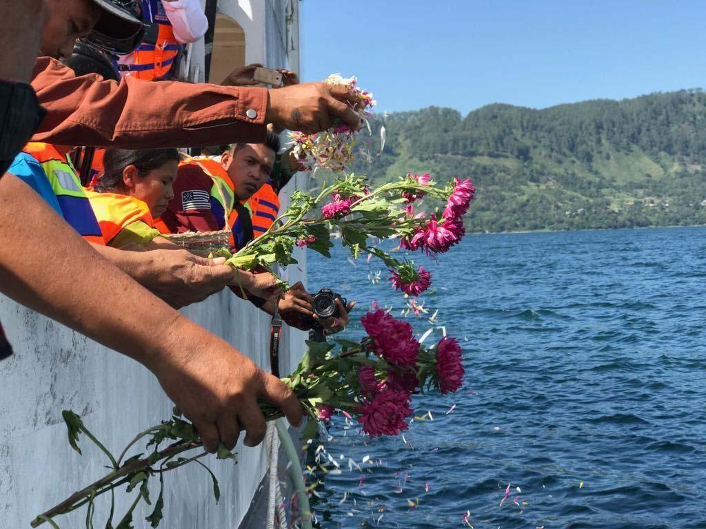 Tragedi Karamnya KM Sinar Bangun di Danau Toba
